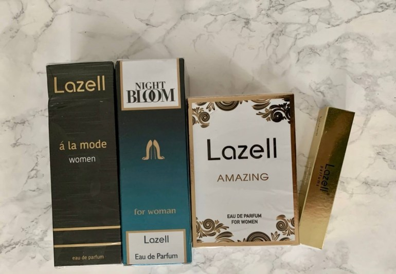 Lazell, the equivalent of a fragrance