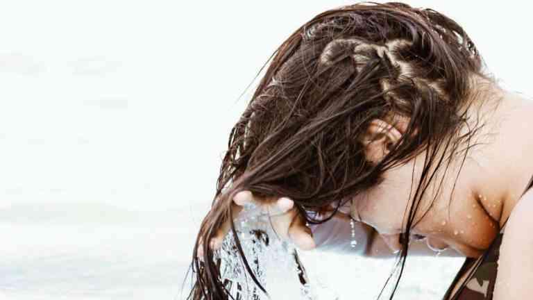 Mycie włosów płynem micelarnym | no poo