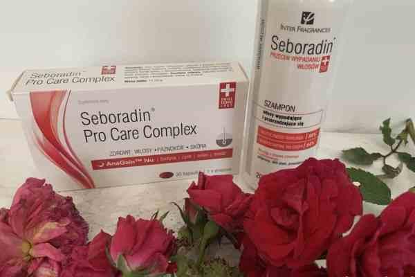 Seboradin przeciw wypadaniu włosów | pro care complex