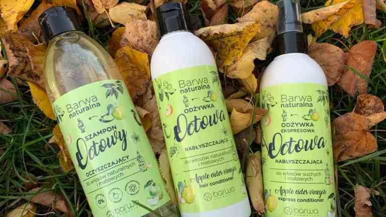 Barwa octowa: odżywka, spray i szampon | nowości do włosów