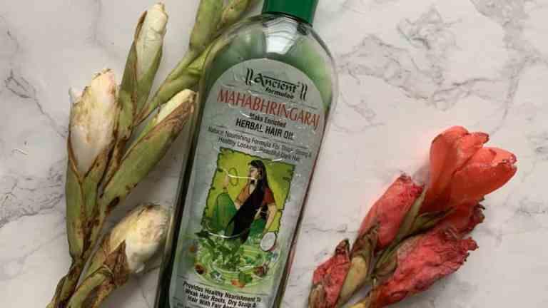 Hesh Mahabhringaraj, ziołowy olej na porost włosów