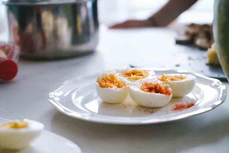 Stuffed eggs, recipe how to make: