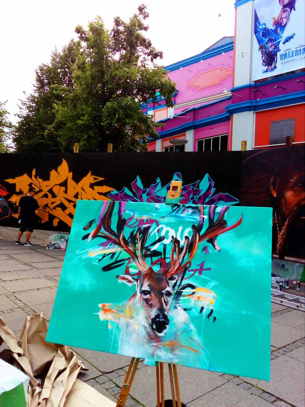 Live graffiti