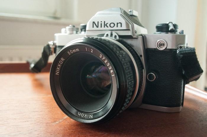 De Nikon FM mit STandard-Objektiv