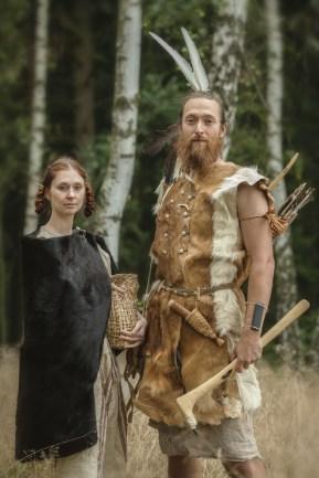 eneolitický pár