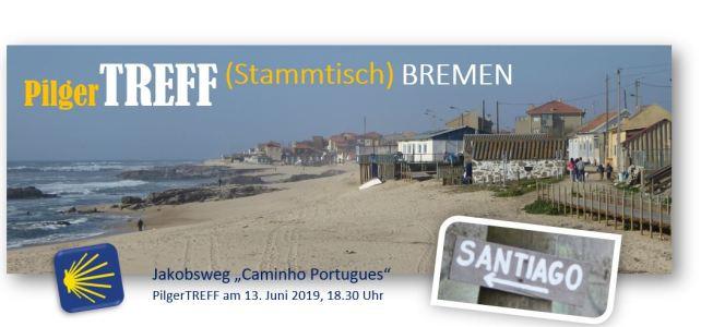 13.6.2019, 18.30 Uhr – Jakobsweg PilgerTREFF (Stammtisch) BREMEN – für alle