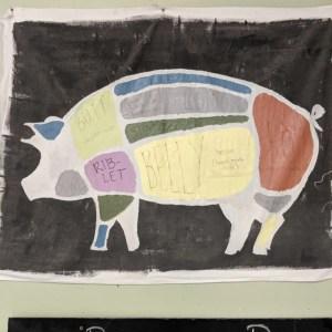 Femur Bones, Pork