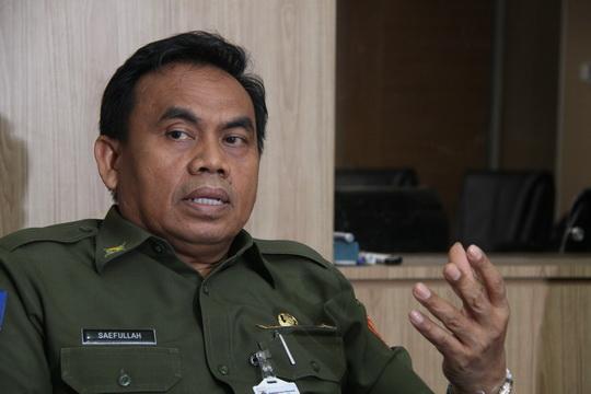 Saefullah, Sekretaris Daerah Pemerintah Provinsi DKI Jakarta. (maxmun)