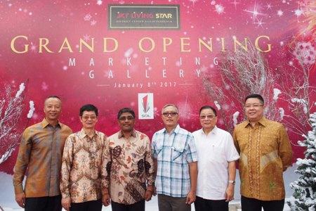 Foto Peluncuran proyek JKT Living Star di Jakarta. (istimewa)