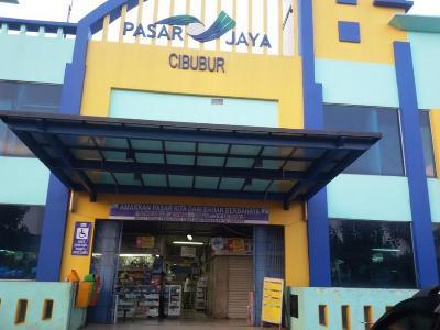 Pasar Cibubur, salah satu dari 13 pasar tradisional milik PD Pasar Jaya yang sudah meraih SNI. (istimewa)