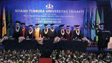Photo of 2249 Mahasiswa Trisakti Ikuti WisudaSecaraDaring
