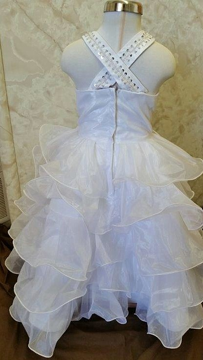 layered infant flower girl dresses