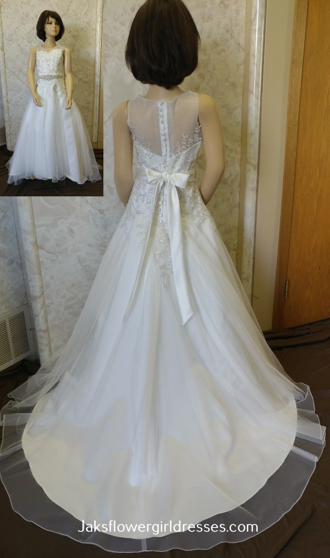 64dd96775df Miniature bride dresses for your little flower girl dresses.