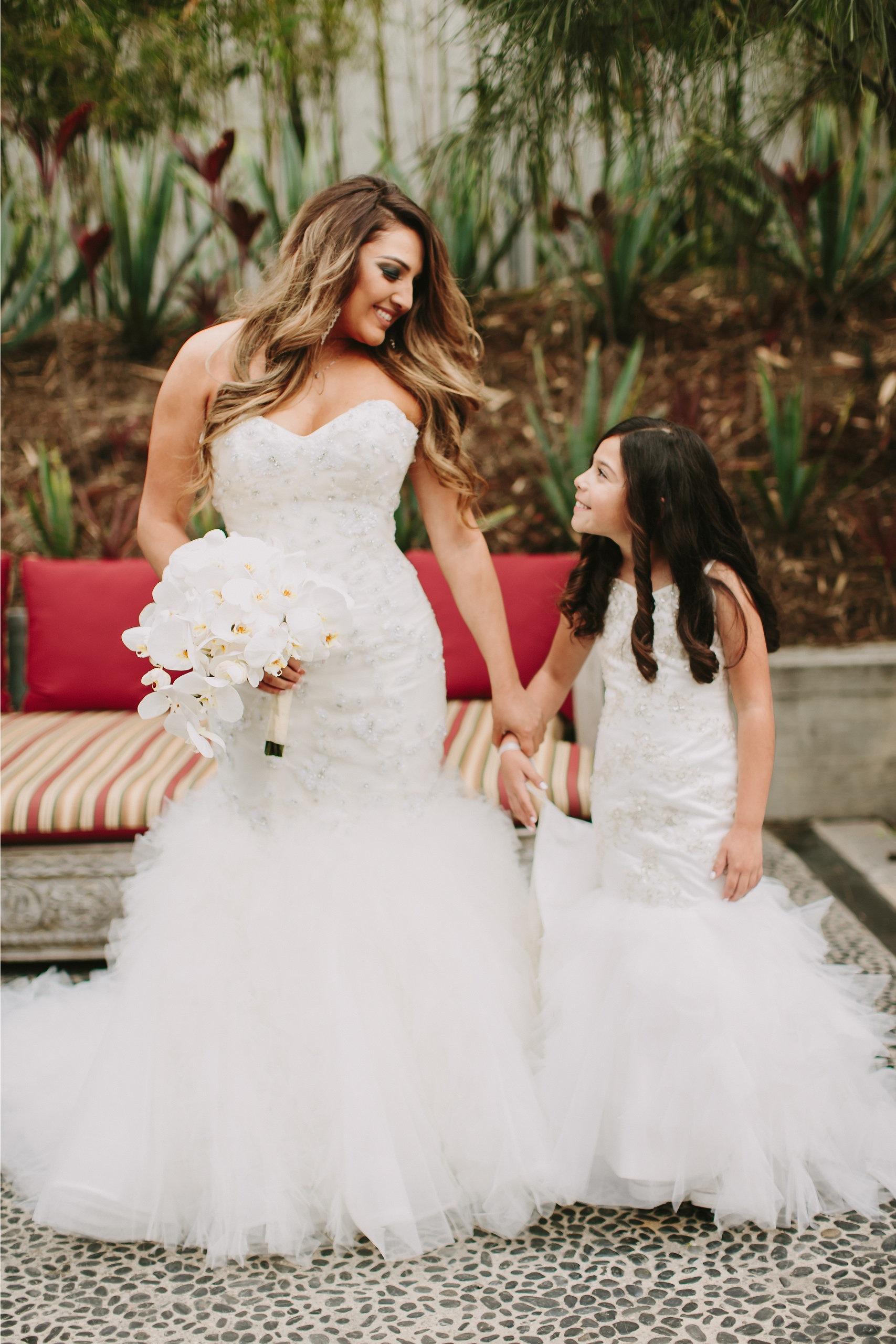 2cb23b051 Ivory Lace Miniature Bride Dresses