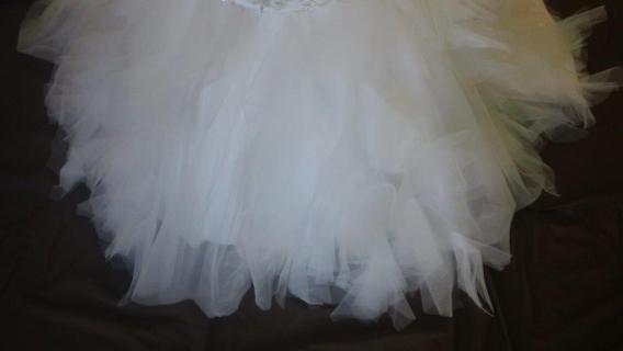 ruffle skirt mermaid dress