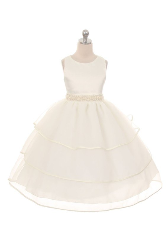 ivory girls dresses