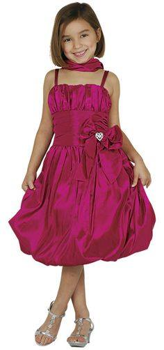 girls fuschia sale dress
