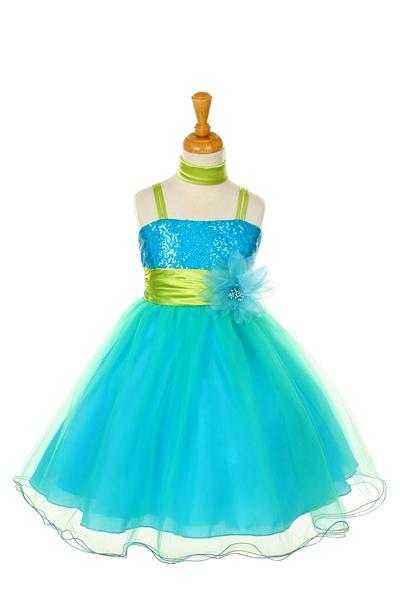 Little Girls sequin dress SALE