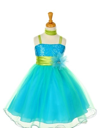 Little Girls sequin dress SALE
