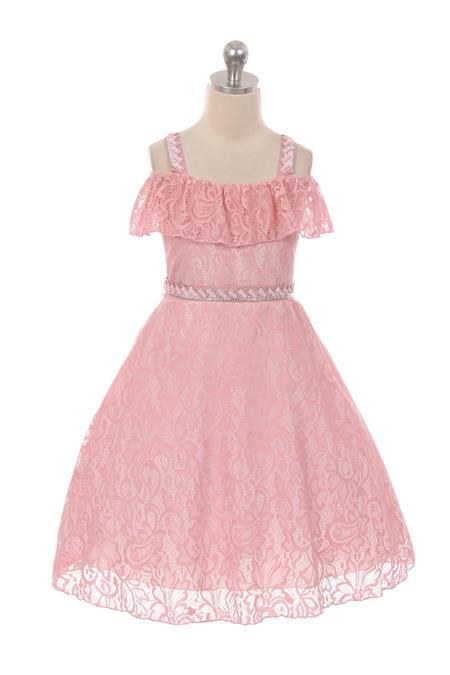 girls pink summer dresses