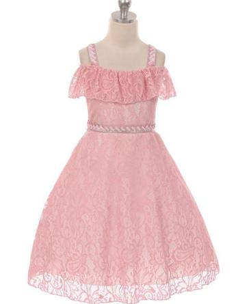 girls pink summer dresses