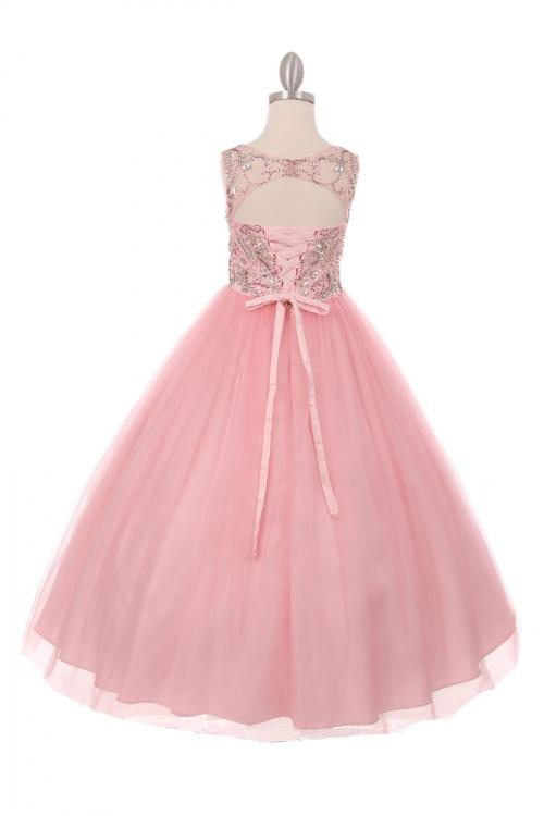 Open back pageant dresses