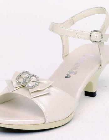 girls ivory heels