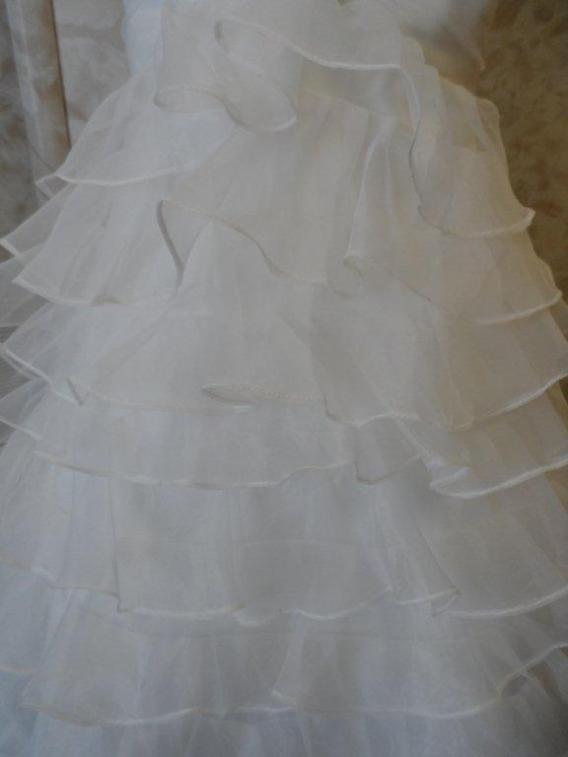 flower girl bridal gown