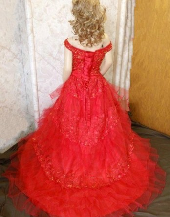 red with gold southern belle ball gowns