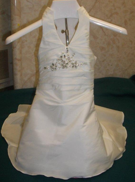 miniature bride gowns infants