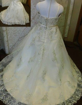 flower girl dresses with lace