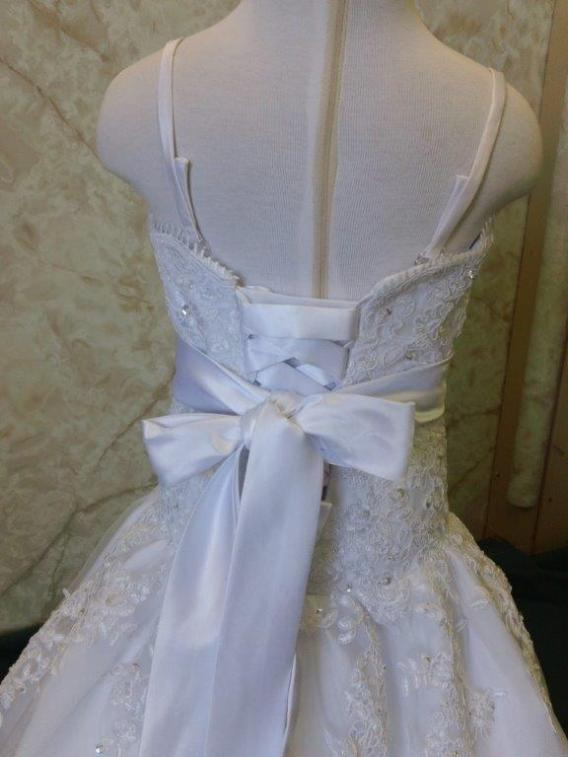 corset lace up back