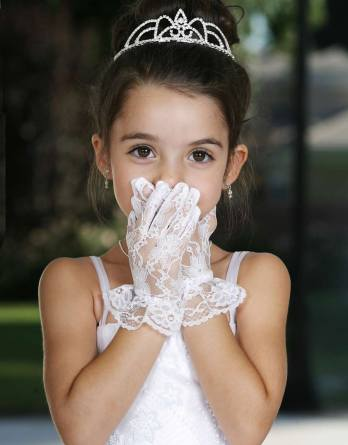 girls dress gloves