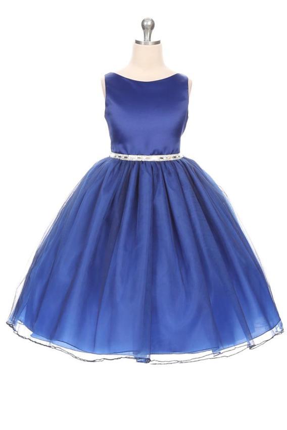 cheap royal blue girls dress