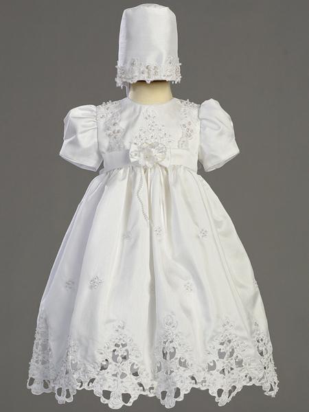 lace baptism dress