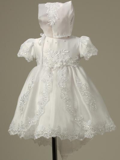 baby girls christening dress