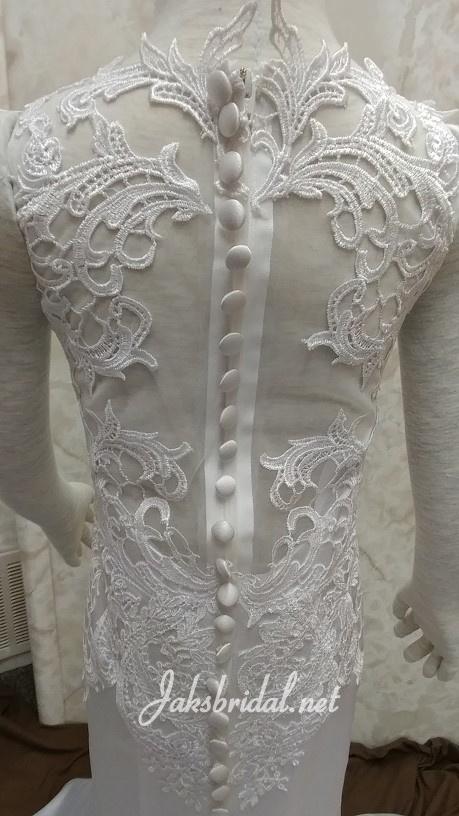 sheer back flower girl dress