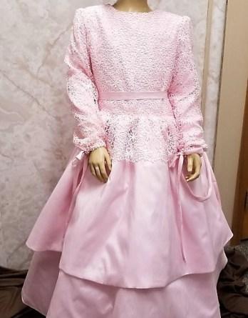 mormon flower girl dress