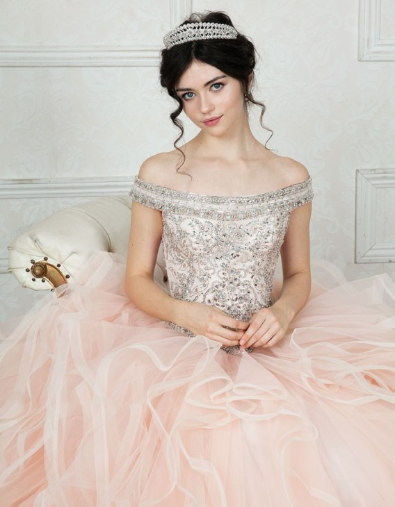 Adult size Quinceanera dress