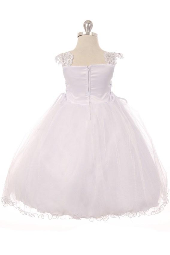 virgin mary christening dress