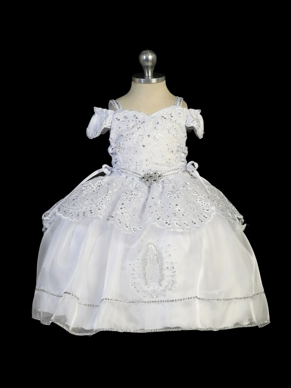 Virgin mary christening outfit