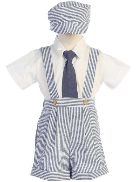 boys suspender outfit