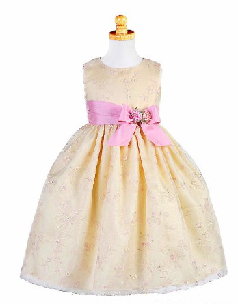 pink and yellow dress sale