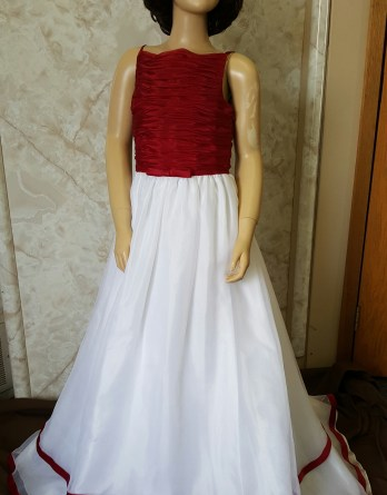 red apple bridesmaid dresses