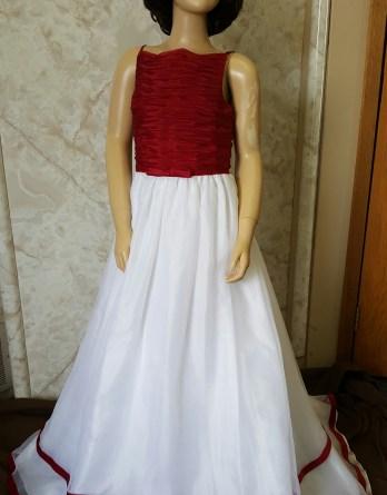 red apple bridesmaid dresses