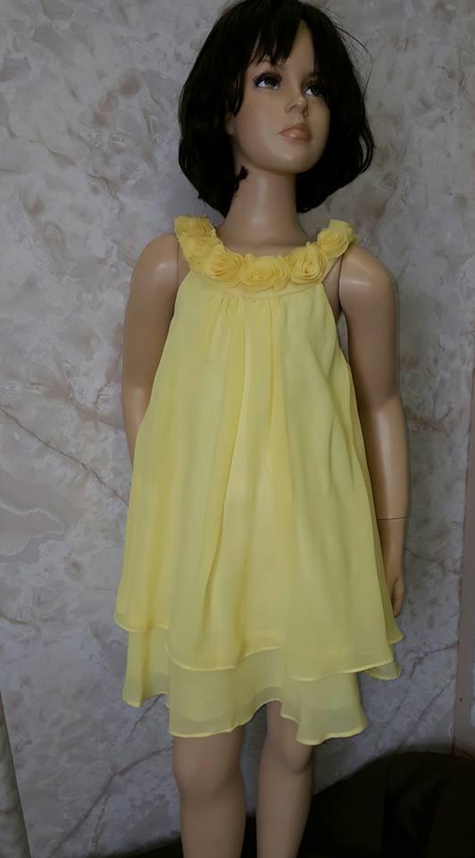 girls yellow easter dress sale