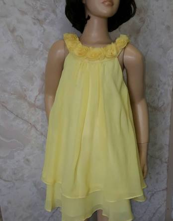 girls yellow easter dress sale