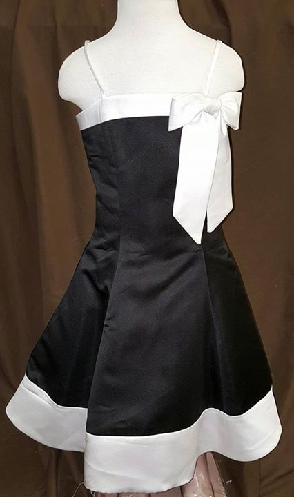 black and white clearance dress