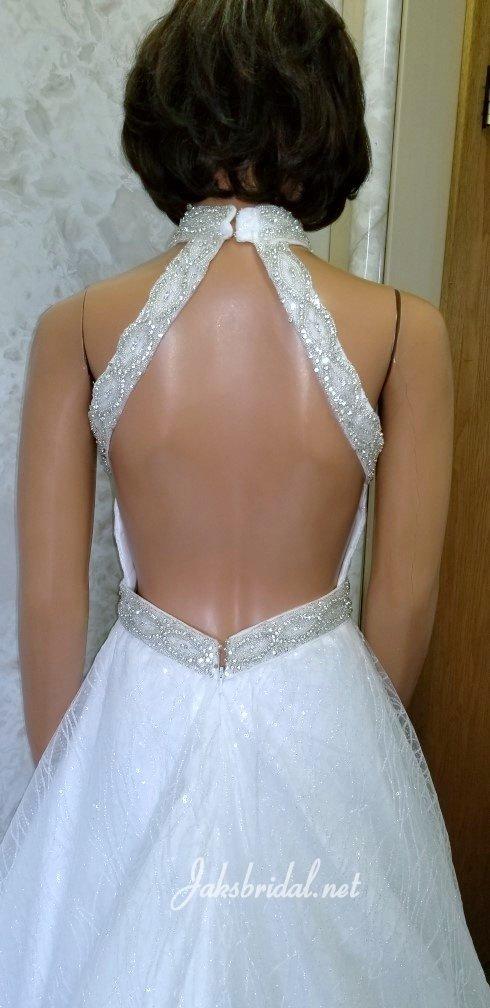 open back teen pageant dress