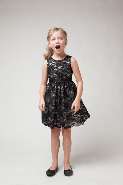 Black lace dress sale